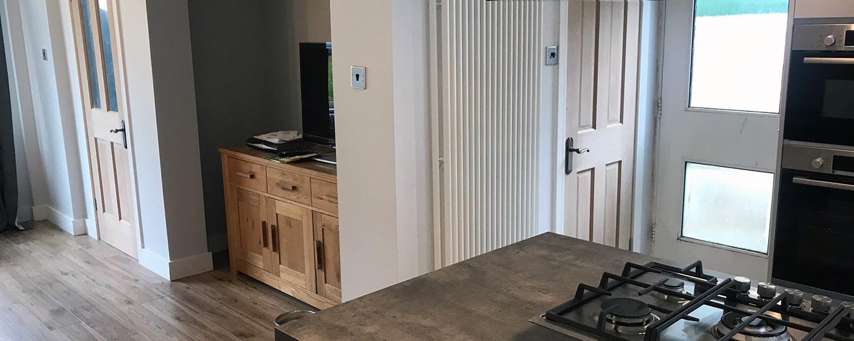 Kitchen and lounge refurbishment