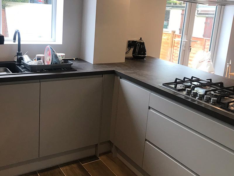 Kitchen and lounge refurb