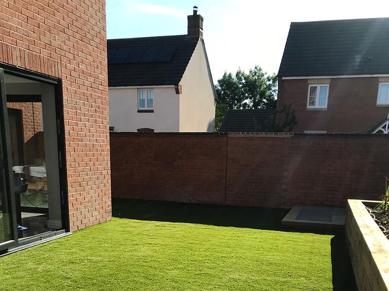 Garden lawn astroturf